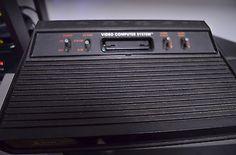 Atari 2600 Black Console - http://video-games.goshoppins.com/video-game-consoles/atari-2600-black-console/