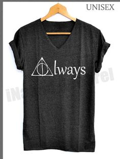 Deathly Hallows Always Shirts Harry Potter Shirts by iNakedapparel