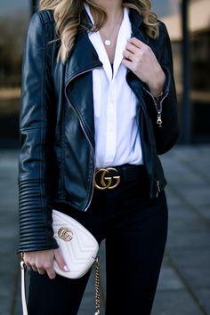 Am vergangenen Wochenende habe ich meinen 30. Geburtstag gefeiert. Im heutigen Blog Post erzähle ich euch von den Lektionen, die ich in meinen Zwanzigern gelernt habe. Outfit, Streetstyle, Biker Jacket, Biker Jacke, Frühling, Schlaghose, Spring, Flared Jeans, Life Lessons, Lebensweisheiten, Look, Style, Fashion, Outfitinspo, Gucci Bag, Gucci Marmont, Gucci Gürtel, Gucci Belt