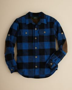 Woolrich Boys' Flannel Shirt - Sizes 4-7 | Bloomingdale's