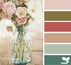 LOVE these colors, bottom is close to our living room.. think I need to add some more of the others!