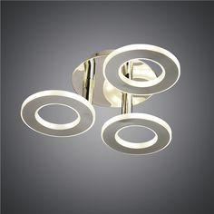LEDシーリングライト 天井照明 アクリル照明 おしゃれ 円形 3灯