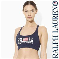 ae3a19879e Gear up with Ralph Lauren s sports bra and get to work!  SummerOlympics   Fanatics