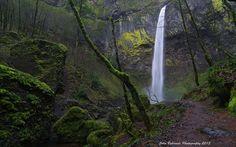 Elowah Falls by John Behrends, via Flickr