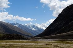 Mountainscape of Chamba, Himachal Pradesh, India