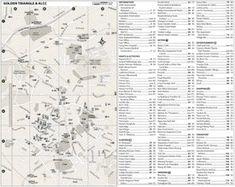Large detailed tourist map of Bergamo Maps Pinterest Tourist