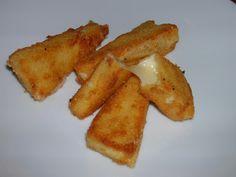 Formatge fregit/ Queso frito/ Fried cheese/ Queijo frito
