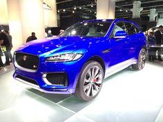FRANCFORT 2015. Los imperdibles de la Feria Internacional del Automóvil.Jaguar F-PaceOtra marca de lujo que incursiona en el segmento de los SUV. El de Jaguar tiene opciones de motorizaciones nafteras y diesel. Promete también gran espacio para las piernas de los pasajeros traseros.