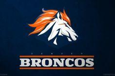 Denver Broncos   Redesigned Logos by Bleacher Report