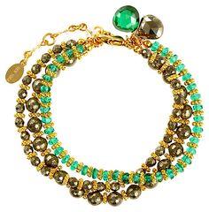 One Kings Lane - The Bracelet Boutique - Precious Peridot