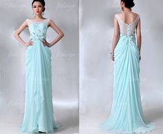tiffany blue prom dress long prom dress lace prom by fitdesign, $159.00