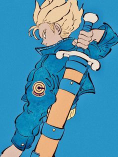 Future Trunks Dragon Ball Z Dragon Ball Gt, Comic Manga, Manga Anime, Anime Art, Fanart, Character Art, Character Design, Manga Dragon, Akira
