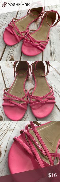 083c02cf06c41 Gap- Gorgeous Pink Sandals Flats