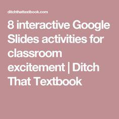 8 interactive Google