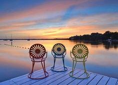 Yeah it 39 s beautiful lake mendota at sunset meet me for Mendota terrace