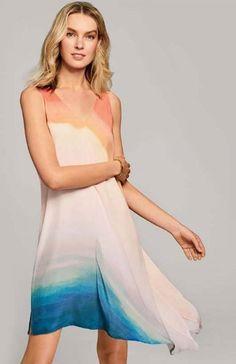 Vibrant Waterdress Dress Style
