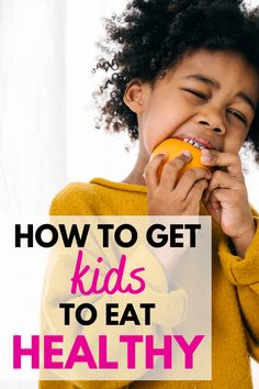 Trying to improve your family's diet? When it comes to how to get kids to eat healthy, you'll find some awesome kids nutrition tips in this dietitian written blog post!