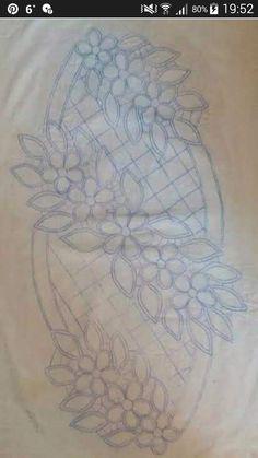 Best 12 Rudina Shatku's media content and analytics – SkillOfKing. Embroidery Neck Designs, Cutwork Embroidery, Floral Embroidery Patterns, Embroidery Stitches, Romanian Lace, Crochet Flower Tutorial, Point Lace, Irish Lace, Baby Knitting Patterns