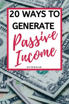 20 passive income ideas to start a side hustle. Make money on the side with these amazing ideas Online Jobs For Moms, Online Work From Home, Work From Home Jobs, Student Jobs, College Students, Way To Make Money, Make Money Online, Survey Sites That Pay, Passive Income Streams