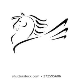 Ähnliche Bilder, Stockfotos und Vektorgrafiken von Vector silhouette of a horse's head - 645837871 | Shutterstock Horse Head Drawing, Silhouette, Illustrations, Stock Foto, Images, Horses, Kirigami, Drawings, Animals
