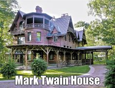 Mark Twain House & Museum, 351 Farmington Avenue,  Hartford, Connecticut Road trip this fall? I think yes.