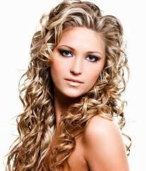 messy perm long hair before after - Google Search