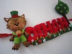 ♥♥♥ Oihan... by sweetfelt  ideias em feltro, via Flickr