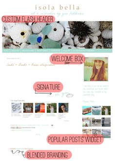 nice way of putting blog title. inspiration Live it by Danica G