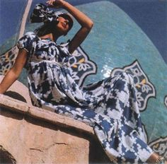 The imagery that instantly appears before us when we think of Iranian women today is that of a beautiful face adorned in a hijab, and black . Sixties Fashion, Retro Fashion, Vintage Fashion, School Fashion, Ethnic Fashion, Blue Fashion, Vintage Style, Style Fashion, Fashion Design