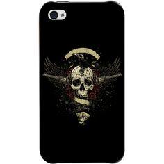 iPhone 4 / 4S için Ozi İskelet Kapak