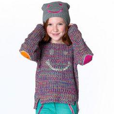 Star Wink Smiley Sweater #giftsforher #tweenfashion #littlemissmatched