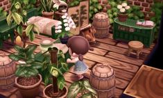 ** animal crossing 1000 acnl paw paw after half a year i finally have a finished. ** animal crossing 1000 acnl paw paw after half a year i finally have a Animal Crossing Wild World, Animal Crossing 3ds, Animal Crossing Pocket Camp, Ac New Leaf, Theme Nature, Happy Home Designer, Greenhouse Plans, Indoor Greenhouse, Indoor Garden