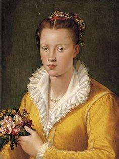 Bianca Capello *oder Hat* (1548-1587) Daughter of Bartolomeo Cappello and Pellegrina Morosini. Wife to Pietro Bonaventuri and Francesco I de Medici