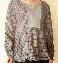 Расширяем любимые тесные вещи - Модная женщина: одежда и вещи для полных Couture, Sweaters, Fashion, Moda, High Fashion, Sewing, Fashion Styles, Pullover, Sweater
