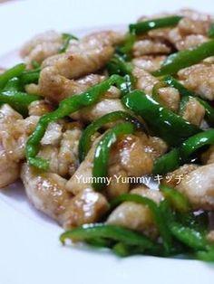 と~~~っても柔らか☆鶏むね肉のチンジャーロースー風ピーマン炒め♪お弁当にもどうぞ~|レシピブログ