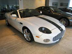Aston Martin DB AR1 in white with black stripe For more informations, please visit www.astonmartin-zagato.net