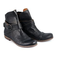 buckle boots - p. monjo