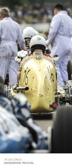 Goodwood Revival #Rolex #MotorSports #RolexOfficial