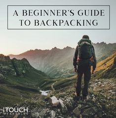 If you are curious about going backpacking for yourself, there are definitely many things you should know before hitting the road or trails. Here is your Beginner's Guide To Backpacking: click here to find out more! The Great Outdoors, Backpacking, How To Find Out, Mountains, Motivation, Lifestyle, Fit, Shape, Travel Backpack