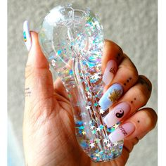 Shop the lowest prices on bongs, dab rigs, glass pipes, vaporizers, dab nails and more! Ganja, Acrylic Nail Designs, Acrylic Nails, Clear Acrylic, Puff And Pass, 420 Girls, Stoner Girl, Stoner Room, Smoking Weed