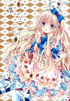 Alice (Alice in Wonderland) Mobile Wallpaper - Zerochan Anime Image Board Manga Anime, Manga Art, Anime Art, Alice Anime, Estilo Anime, Anime Princess, Lewis Carroll, Image Manga, Cute Chibi