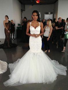 Sexy, mermaid Galia Lahav wedding dress