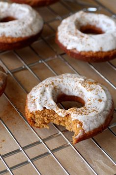 Cinnamon Chai Baked Red Lentil Doughnuts | The Plant Strong Vegan