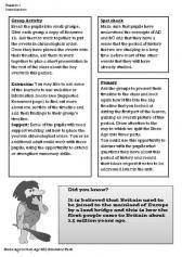 Stone Age-Iron Age Planning