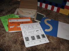The progression of handwriting in the Montessori environment -- part 3 - The Hands-On Homeschooler Hand Writing, Pre Writing, Writing Ideas, Teacher Hacks, Teacher Stuff, Teaching Tools, Teaching Ideas, Mat Man, Curriculum