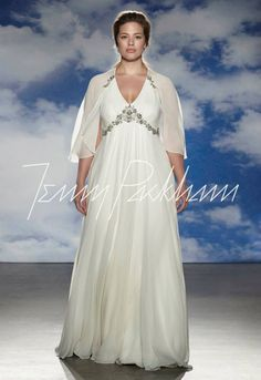 3 Simple Tips for Choosing a Plus-Size Wedding Dress for a Fuller Figure - dress by Jenny Packham