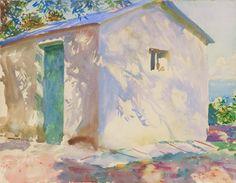 "John Singer Sargent: ""Corfu: Lights and Shadows,"" 1909."