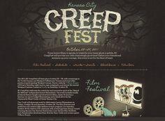 Kansas City Creep Fest - web design