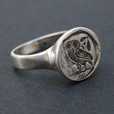 Owl Ring via Etsy.