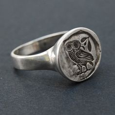 Owl Ring via Etsy.